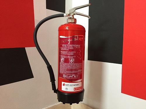 La sicurezza antincendio in casa lupi estintori - Estintore in casa ...